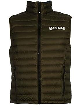 Colmar 944os chaleco para hombre sin mangas de oliva chaqueta Outerwear–Chaleco térmico, verde oliva, mediano