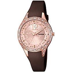 Calypso Damen-Armbanduhr Analog Quarz Plastik K5660/3