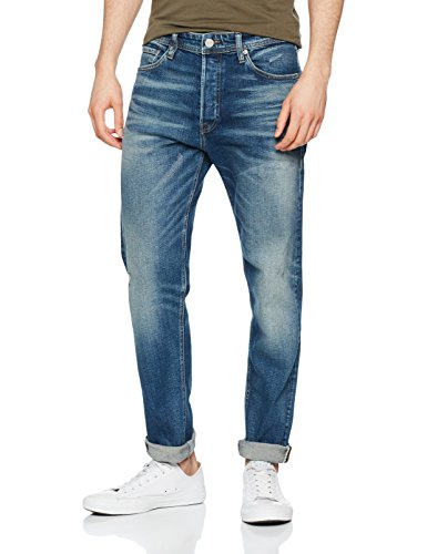 JACK & JONES Herren Loose Fit Jeans Jjifred Jjoriginal JJ 066 AW24 Noos, Blau (Blue Denim), W31/L32