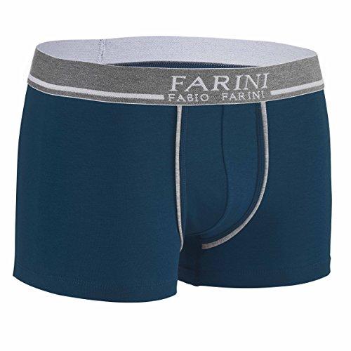 4er Pack Fabio Farini Boxershorts Baumwolle Herren Unterwäsche Pants 2x Rot 2x Blau