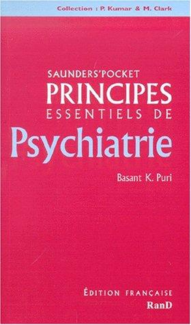 Principes essentiels de psychiatrie par Basant-K Puri