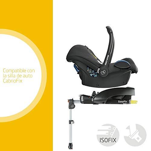 Imagen para Maxi-Cosi EASYFIX BASE, base para grupo 0+ en coche, uso con ISOFIX ó cinturón, seguridad máxima en combinación con Maxi Cosi Cabriofix