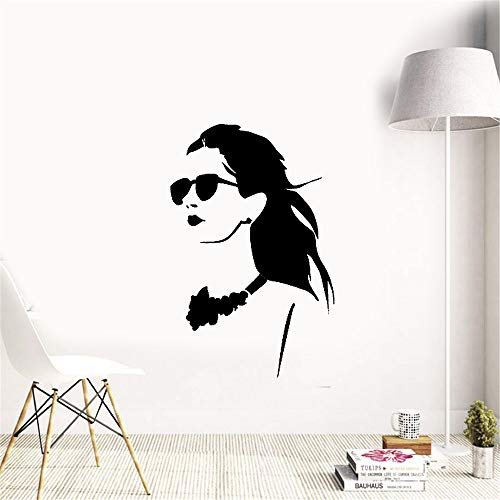 Wandtattoo Kinderzimmer Wandtattoo Wohnzimmer Hot Sexy Girl In Brille High Fashion