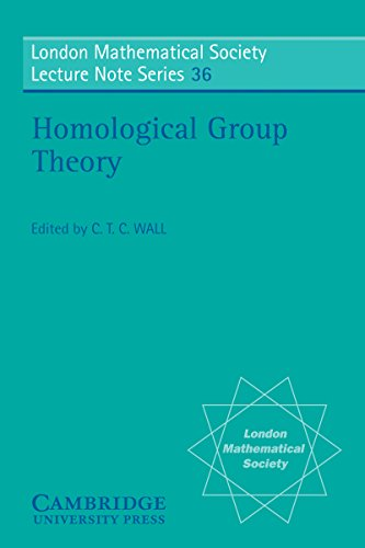 Homological Group Theory (London Mathematical Society Lecture Note Series Book 36) (English Edition)