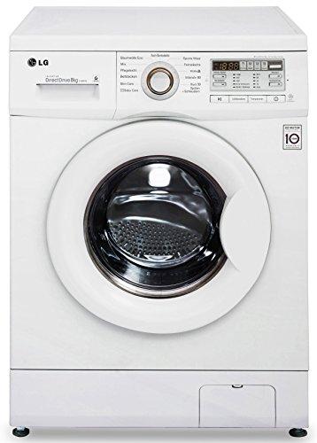 LG Electronics F 14B8 TDA Waschmaschine FL / 137 kWh/ 1400 UpM / 8 kg / 10500 L/ Digitaldisplay / weiß