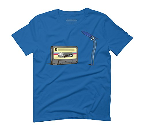 Good old times Men's Graphic T-Shirt - Design By Humans Royal Blue