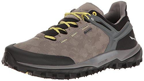 Salewa Wander Hiker Gore-Tex Halbschuh, Chaussures de Trekking et Randonnée Femme Multicolore (Sauric/limelight)