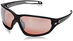 Adidas Evil Eye Evo L Sunglasses - A418 - Mens Black Matte/White 72 mm
