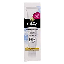 Olay Natural White Miracle Fairness BB Cream (SPF 15) 50ml with Ayur Product in Combo