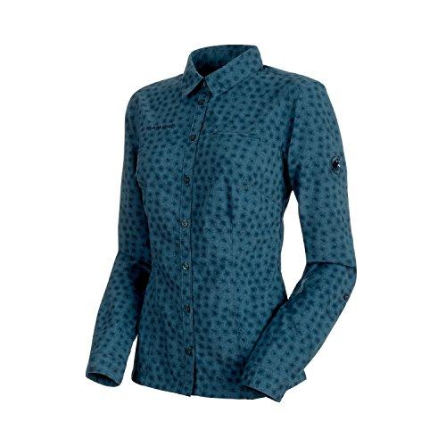 Damen Langarm-Hemd Trovat Advanced, 1030-2560,blau (jay), XL