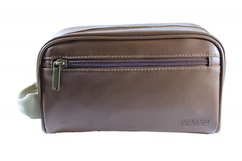 kenneth-cole-reaction-mens-brown-toiletry-travel-bag-one-size-brown-by-kenneth-cole-new-york