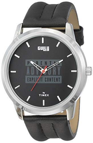 Gully by Timex Hip-hop Analog Black Dial Men's Watch-TWEG15020