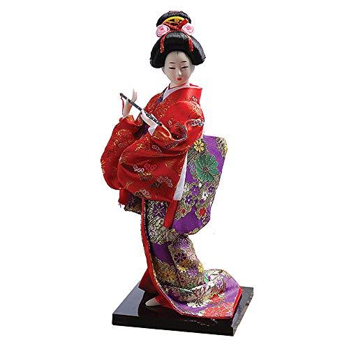 Lady Drachen Kostüm - Asiatischer Drache Japanische Geisha Lady Puppe