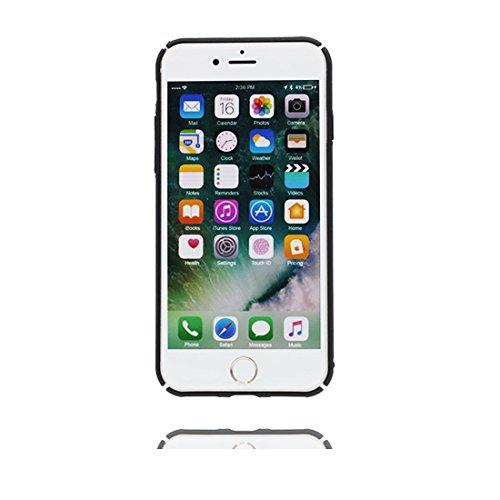 """iPhone 6s Plus Hülle, TPU Dauerhaft Shell für Mädchen iPhone 6 Plus / 6S Plus Handyhülle Cover 5.5"""" Staubdicht - Stars Weltraum Galaxy Planeten Schwarz 1"""