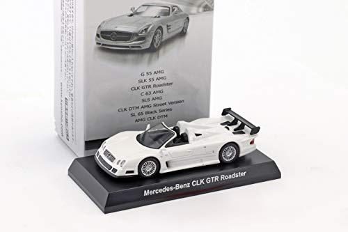 Kyosho Mercedes-Benz CLK GTR Roadster weiß 1:64