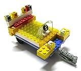 LEGO ® - SPACE - Spacelap - Weltraum - Auto - kleine Zugmaschine mit Anhänger und Fahrer