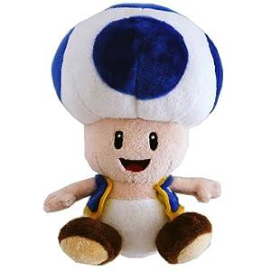 Nintendo - Super Mario Bros. sapo de peluche azul de 17 cm