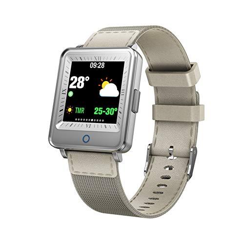 NSADBVTW Sportuhr Dual Screen Smart Watch Herren