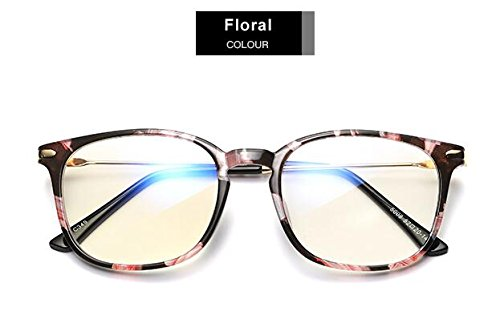GPZFLGYN Anti-Blau Computer Gläser Anti-Fatigue Anti Blue Light Brille Lesebrille Schutzbrille Titan Rahmen Computerspielbrille Für Frauen Männer
