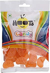 Hoots Orange Candy Pack of 3