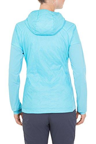 VAUDE women's simony jacket veste Turquoise - Bleu Mers du Sud