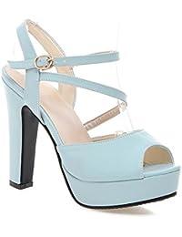 L YC Femmes Chaussures De Mariage Pointues Confortable à Talons Hauts Grande Taille Custom 0723-01F VariéTé De Couleurs , red , 41