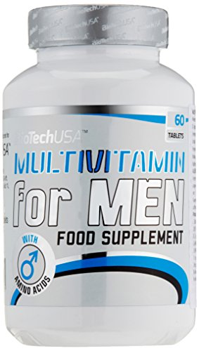BioTech USA Multivitamin for Men, 60 Tabletten