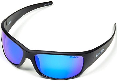 Eisbär Eyewear - Sonnenbrille Feuerberg für Damen und Herren | Entspiegelt & Bruchsicher | UV Schutz 400 | Inkl. Hardcase-Aufbewahrung