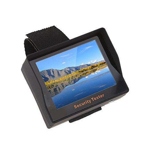 KKmoon Test Monitor Portable 3,5 Zoll TFT Farbe LED CCTV Kamera Sicherheit Tester für Überwachung Audio Video Eingang (Sicherheits-monitor-kamera)