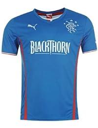 Rangers Hogar Camisa 2013 2014 - Azul Real, Grande