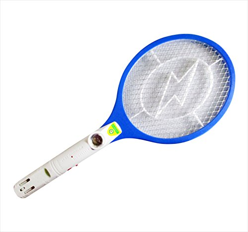 Rechargeable Mosquito / Insect Killer Racket With Led Torch