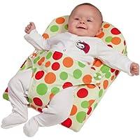 Clevamama ClevaWedge - Cojín posicionador con arnés para bebés 0-6 meses