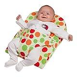 Clevamama Baby Keilkissen - Atmungsaktives Stützkissen mit Gurt