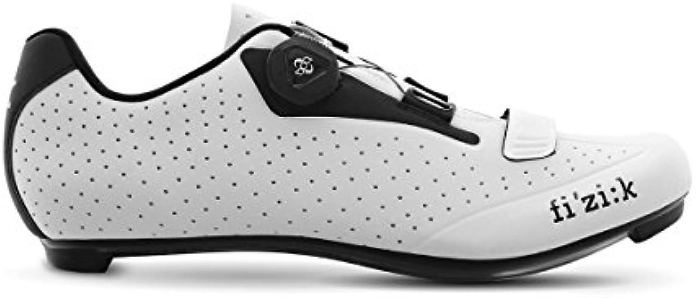 Fizik R5B - Zapatillas Hombre - blanco/negro Talla del calzado 47 2018  -