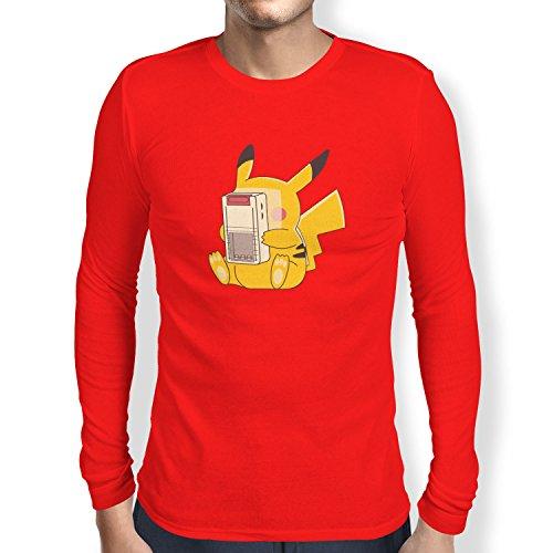 TEXLAB - Gaming Chu - Herren Langarm T-Shirt Rot