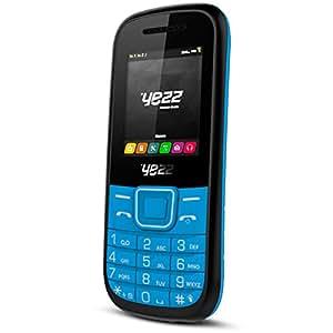 Yezz C21 Téléphone portable débloqué Bluetooth 32 Mo Dual Sim Bleu