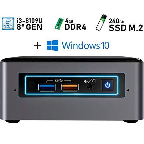 Intel NUC i3-8109U + 4GB DDR4 + 240GB M.2 + Windows