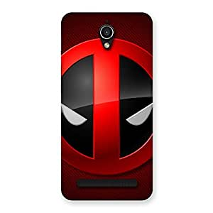 Special Dead Eye Round Red Back Case Cover for Zenfone Go