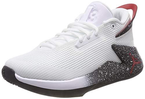 Jordan Herren Fly Lockdown (GS) Basketballschuhe, Mehrfarbig (White/Gym Red/Black 100), 38.5 EU
