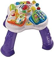 VTech Baby - Mesita parlanchina 2 en 1, mesa de actividades infantil con panel interactivo de actividades extr