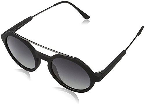 MSTRDS Unisex Retro Space Sonnenbrille, Schwarz (black/grey 5161), Herstellergröße: one Size