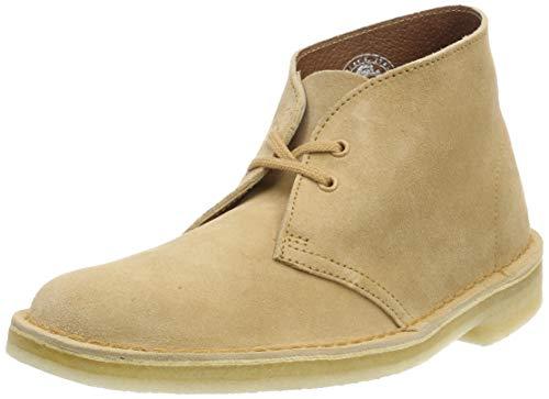 Clarks Originals Damen Boot-261388224 Desert Boots, Braun (Light Tan Suede.), 38 EU Desert Boot-tan