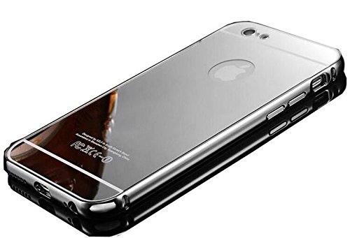 CORST® Case Cover PC Specchio, Custodia protettiva per iPhone 6Plus/6S Plus 5.5inch(Argento) Argento