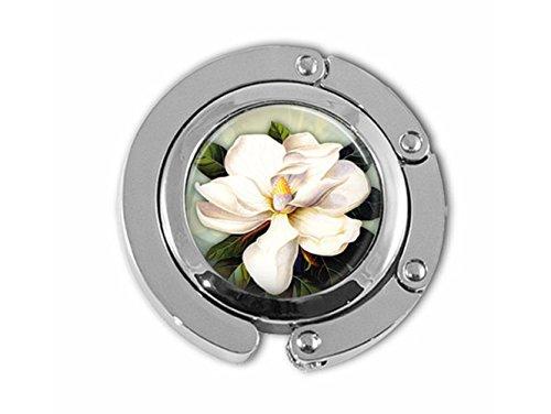Schöne Löwenzahn Magnolia Flower Garden Blumenmuster Art Tasche Halter Regenschirm Aufhänger - Magnolia Glas-anhänger