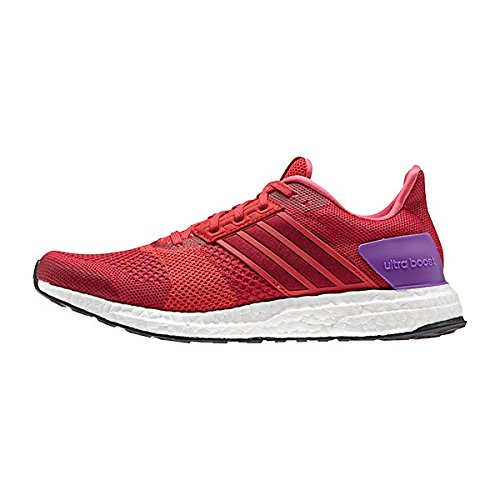 adidas Ultra Boost St W, Chaussures de Running Entrainement Femme Multicolore - Varios colores (Rojo (Rojray / Rosuni / Rojimp))