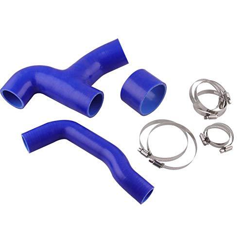 advancethy Auto-Silikonschlauch, Auto Silikonschlauch Hitzebeständigkeit Und Druckfestigkeit Für Subaru Impreza WRX 2001-2005 Auto-Silikonschlauch
