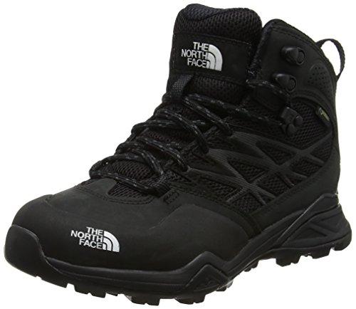 3d88510213 The North Face Hedgehog Hike Mid Gore-Tex, Stivali da Escursionismo Alti  Donna, Nero TNF Black, 40 EU