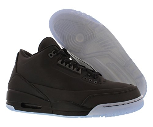 Nike Air Jordan 5lab3, Chaussures de Sport Homme Multicolore - Negro / Transparente (Black / Black-Clear)