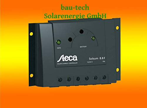 Steca Laderegler Solsum 10.10F von bau-tech Solarenergie GmbH