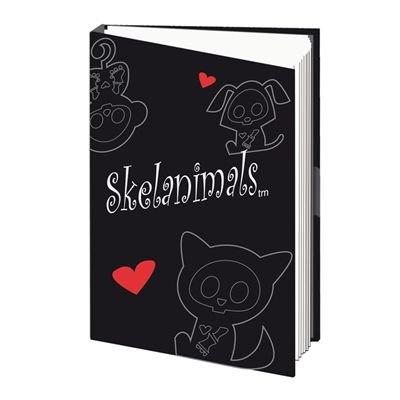 Skelanimals - Note Book Skull (in 14,8 cm x 21 cm)